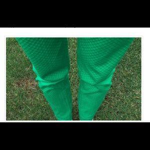 C Wonder geometric pattern pants